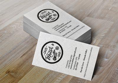 Motors Café cartões