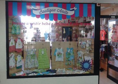 Boutique Anita decoração de montra
