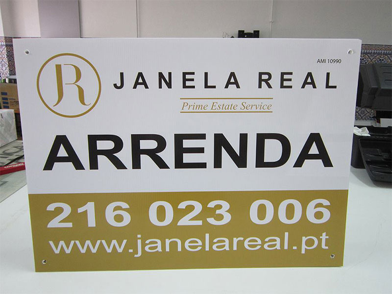 Placas Imobiliária