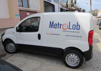 Metrolab decoração de viatura