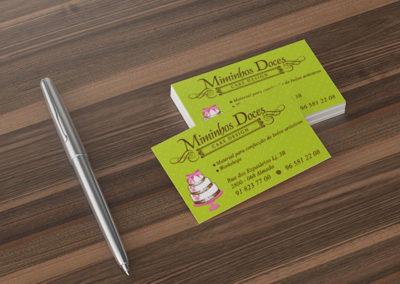 Miminhos Doces Cake Design Cartões