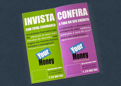 Your Money Folhetos