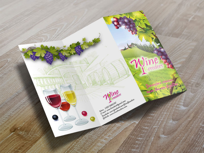Wine Breeders folheto