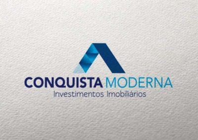 Conquista Moderna logotipo
